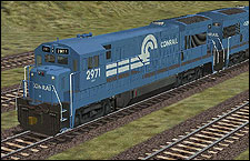 General Electric U36B Model - Conrail 2971 - 2.06 MB KB