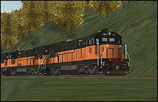 Milwaukee Road 5004 U23B Locomotive - 2.02 MB KB