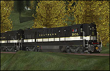 Southern 3935 high hood U23B Locomotive - 1.65 MB KB